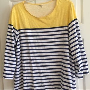 Coldwater Creek Tops - Plus Size Coldwater Creek LS Tee
